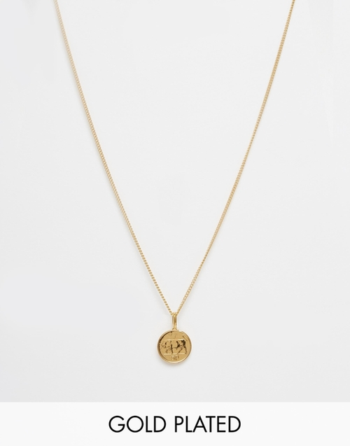 Five Pence Irish Coin Necklace by Katie Mullally in Billions - Season 1 Episode 2