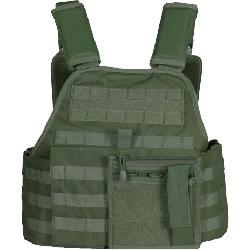 Olive Drab - Tactical MOLLE Vital Plate Carrier Vest by galaxyarmynavy in Sabotage