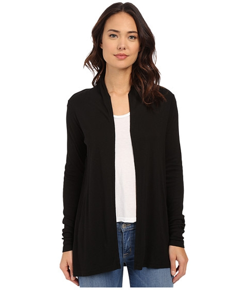 Slub Long Sleeve Open Cardigan by Michael Stars in Man With A Plan - Season 1 Preview