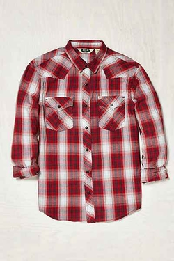 Shadow Plaid Western Shirt by Salt Valley in The Big Bang Theory