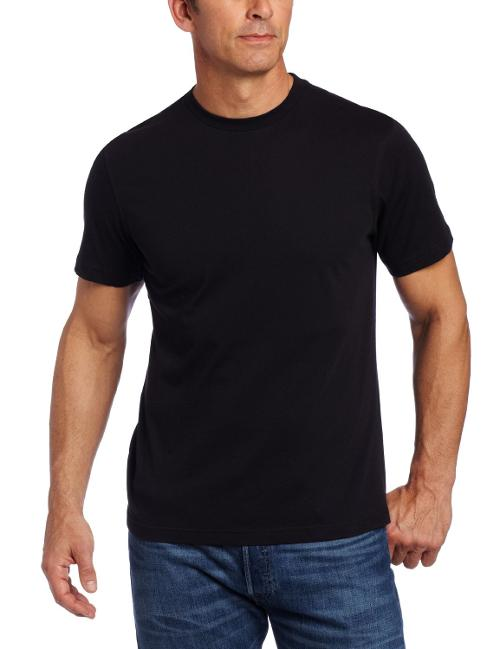 Men's Organic Comfort Short Sleeve Tee by American Essentials in Brick Mansions