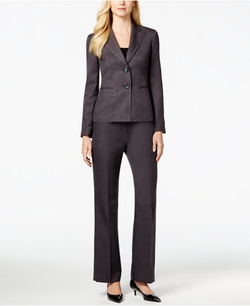 Two-Button Pinstriped Pantsuit by Le Suit in Scandal