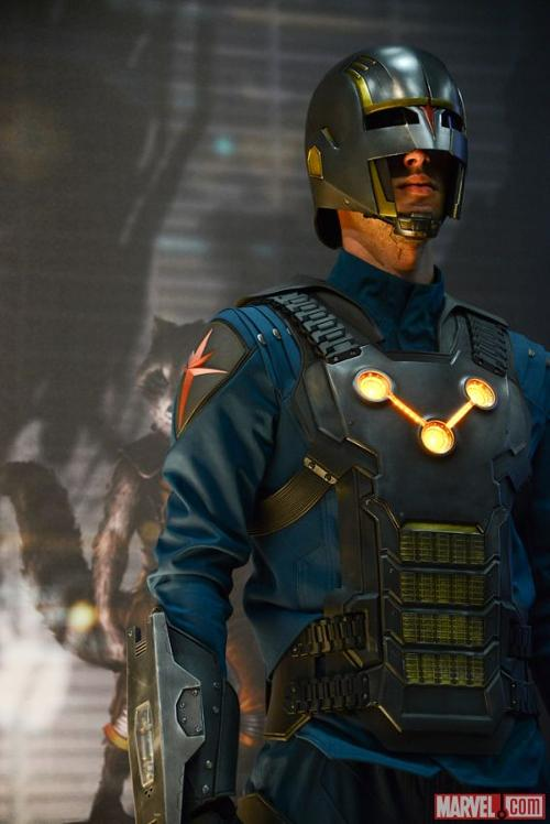 Custom Made Costume (Nova Corps troopers) by Alexandra Byrne (Costume Designer) in Guardians of the Galaxy
