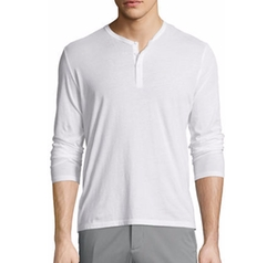 Classic Long-Sleeve Henley Shirt by ATM Anthony Thomas Melillo in The Mummy