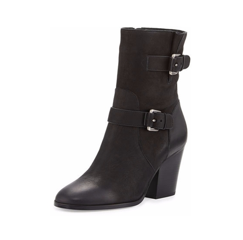 Ashton Mid Leather Booties by Michael Michael Kors in Power Rangers