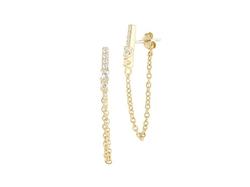 Kiki Stud Earrings by Elizabeth And James in Ballers