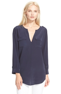 Marlo Silk Blouse by Joie in Modern Family
