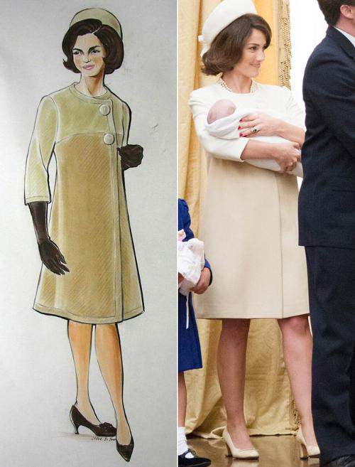 Custom Made Cassini-Inspired Coat (Jacqueline Kennedy) by Ruth E. Carter (Costume Designer) in Lee Daniels' The Butler