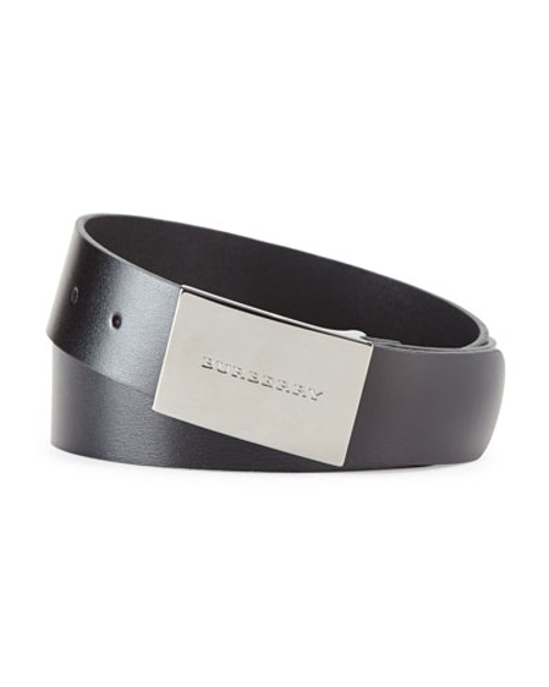 Logo-Buckle Belt by Burberry in Ant-Man