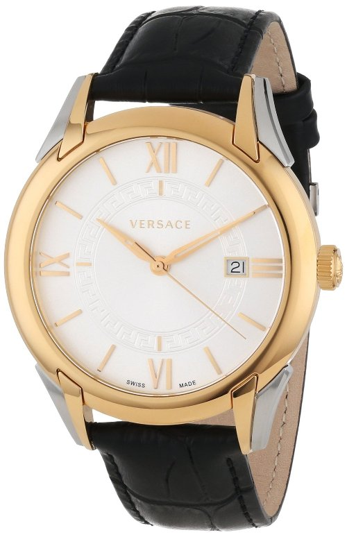 """Apollo"" Rose Casual Watch with Leather Band by Versace in Shutter Island"