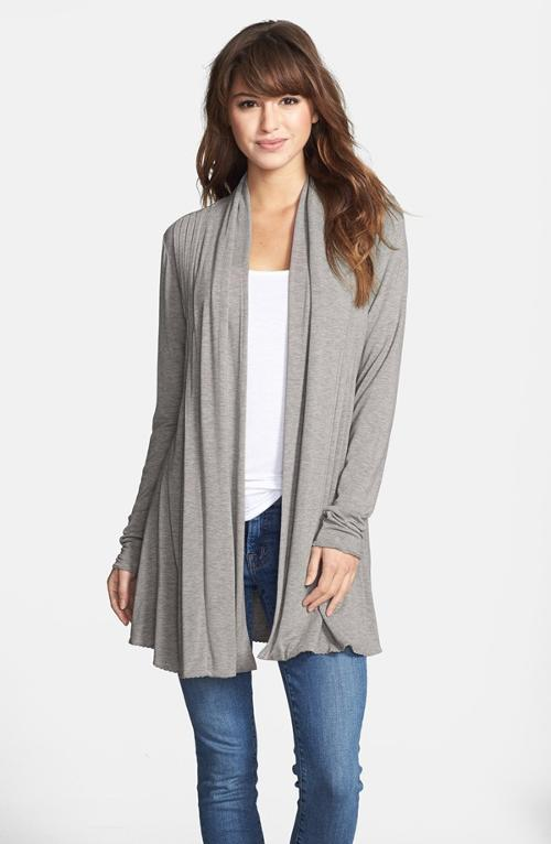 Open Front Cardigan by Kische in What If