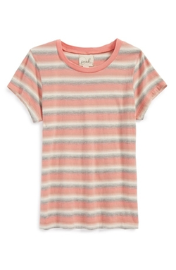 'Sally' Stripe Cotton Top by Peek in Boyhood