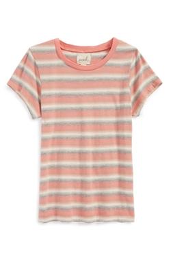 'Sally' Stripe Cotton Top by Peek in Boyhood