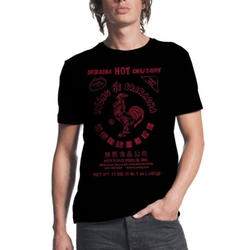 Men's Hot Chili Sauce T-Shirt by Sriracha in The Accountant
