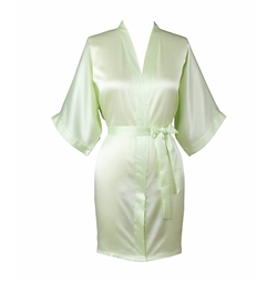 Yukata Women's Elegant Charming Knee-Length Kimono Robe by Joy Bridalc in Sisters