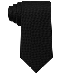 Core Oxford Solid Tie by Tommy Hilfiger in Point Break