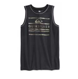 Men's Boar Hunter Mesh Graphic-Print Logo Tank by Quiksilver in Why Him?