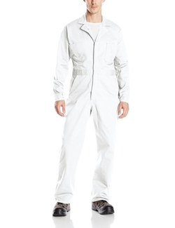 Button Front Cotton Coverall by Red Kap in The Big Lebowski