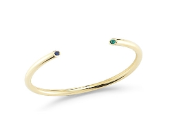 Obi Bangle by Elizabeth & James in Dope