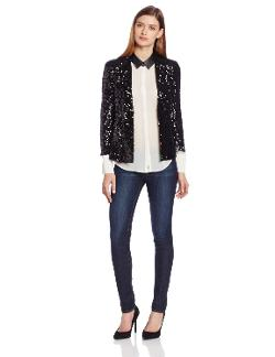Women's Spectacular Sparkle Jacket by French Connection in Frank Miller's Sin City: A Dame To Kill For