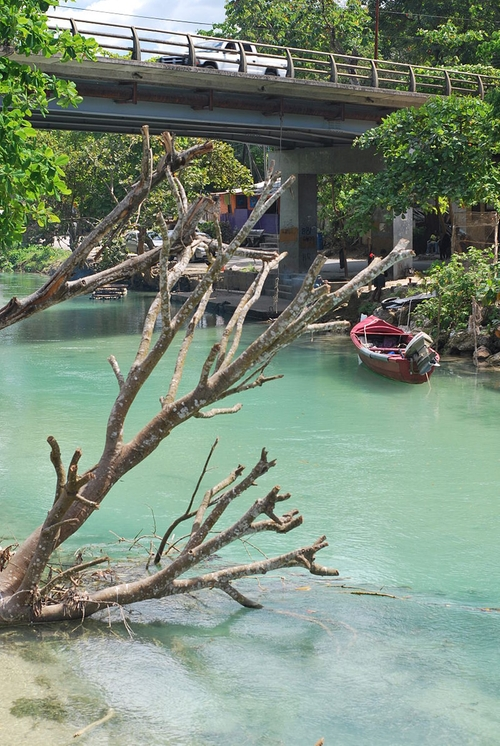 White River Ocho Rios, Jamaica in Dr. No