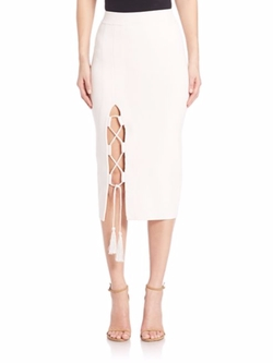 Solid Knit Skirt by Jonathan Simkhai in Empire