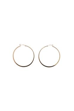 Liv Small Hoop Earrings by Jennifer Zeuner in Straight Outta Compton