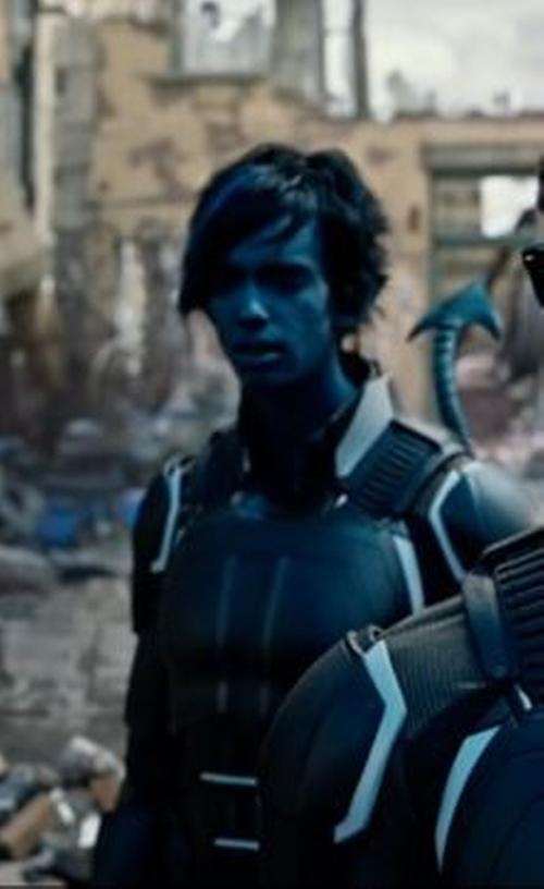 Custom Made Nightcrawler Suit by Louise Mingenbach (Costume Designer) in X-Men: Apocalypse