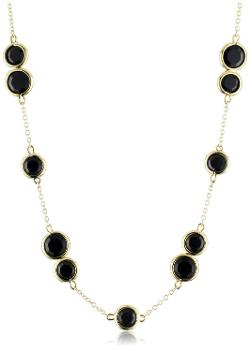 """Crystal Confetti"" Jet Long Necklace by Kate Spade New York in Neighbors"