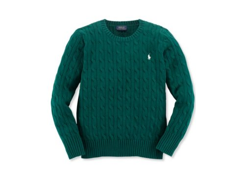 Boys' Solid Cable-Knit Sweater by Ralph Lauren in If I Stay