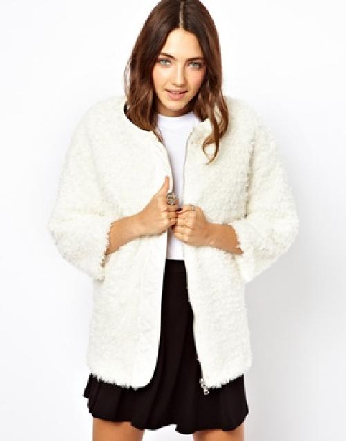 Reversable Faux Fur Jacket by B+AB in Walk of Shame