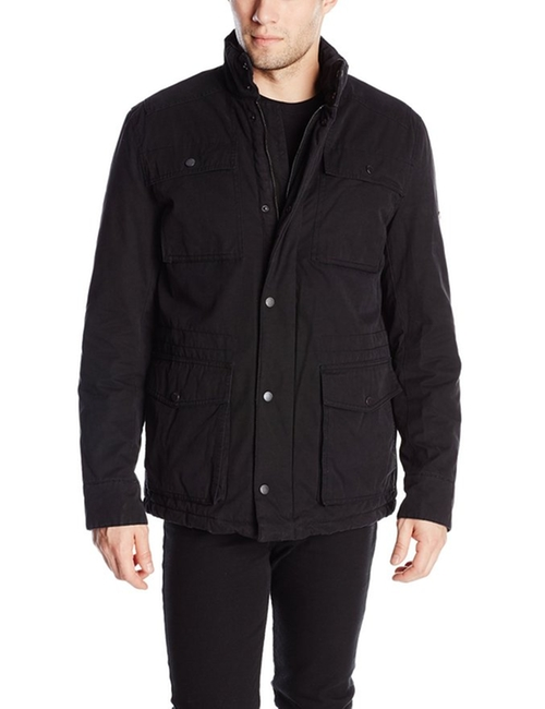 Dry Wax Coated Field Jacket by Ben Sherman in The Vampire Diaries - Season 7 Episode 7