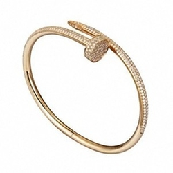 Juste Un Clou Bracelet in Yellow Gold Diamonds by Cartier in Keeping Up With The Kardashians