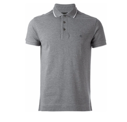 Piped Polo Shirt by Z Zegna in Flaked