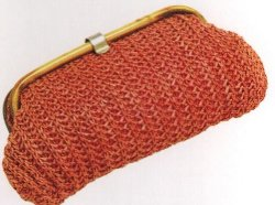 Selected By Patricia Field (Costume Designer) by Vintage Crochet Clutch Bag in Sex and the City 2