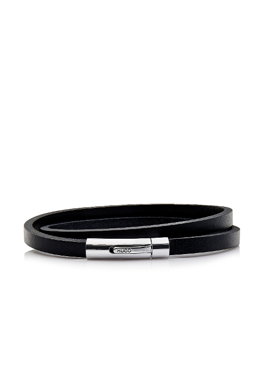 E-Speed Leather Wrap Bracelet by Hugo in The D Train