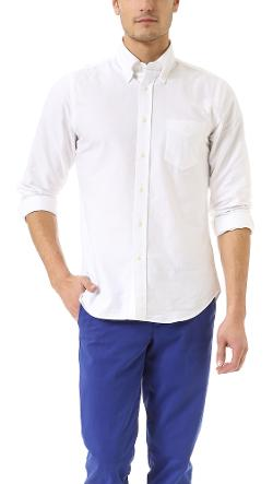 Kick Ass Oxford Shirt by Gant Rugger in No Strings Attached