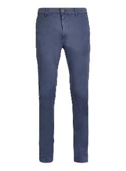 Dark Blue Stretch Skinny Chinos by Topman in Get On Up