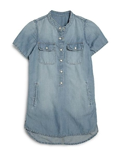 Girl's Denim Shirtdress by Blank NYC in McFarland, USA