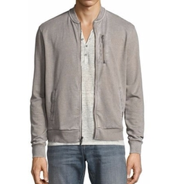 French Terry Zip-Front Track Jacket by John Varvatos Star USA in Kingsman: The Golden Circle