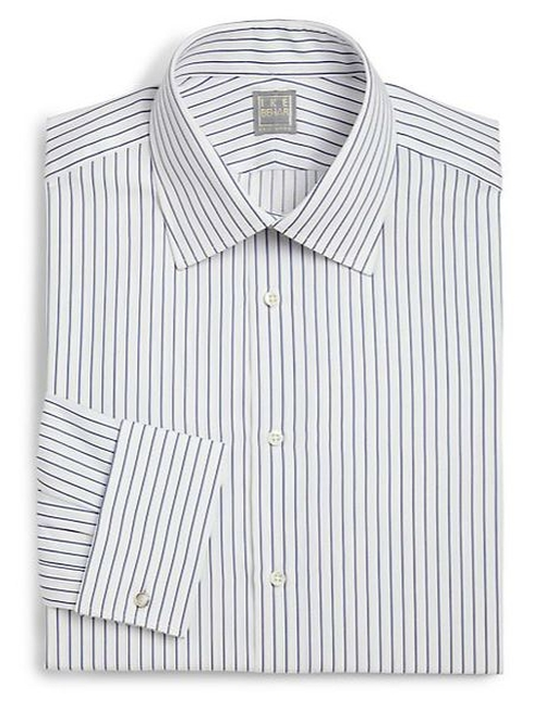 Regular-Fit Crosby Striped Dress Shirt by Ike Behar in The Hangover