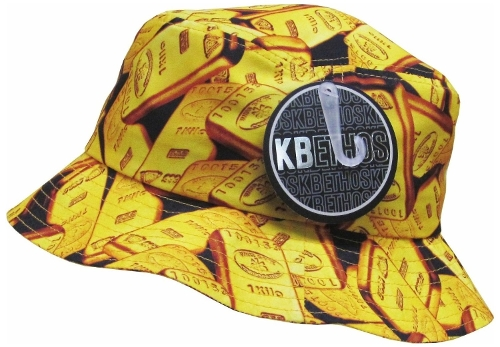 Gold Bars Bucket Hat by KB Ethos in Love & Mercy