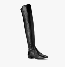 Coraline Leather Over-The-Knee Boots by Michael Kors in Unbreakable Kimmy Schmidt