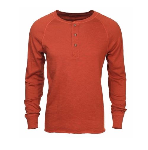 Slub Henley Shirt by Bloomingdale's in New Girl - Season 5 Episode 10