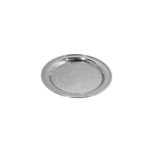 Stainless Steel Rolled Edge Round Serving Tray by Tablecraft in Lee Daniels' The Butler
