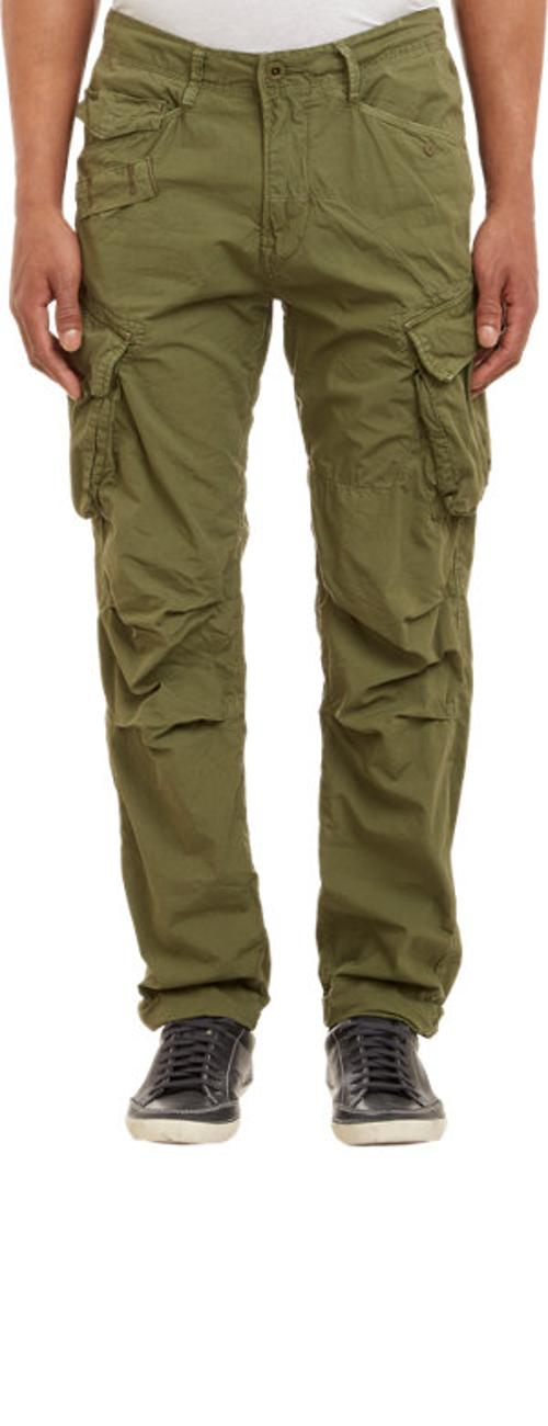Rovic Tapered Cargo Pants - OLIVE by G-STAR RAW in Sabotage