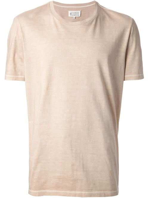 Round Neck T-Shirt by Maison Martin Margiela in No Strings Attached