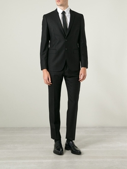 Two Piece Suit by Dolce & Gabbana in Black Mass