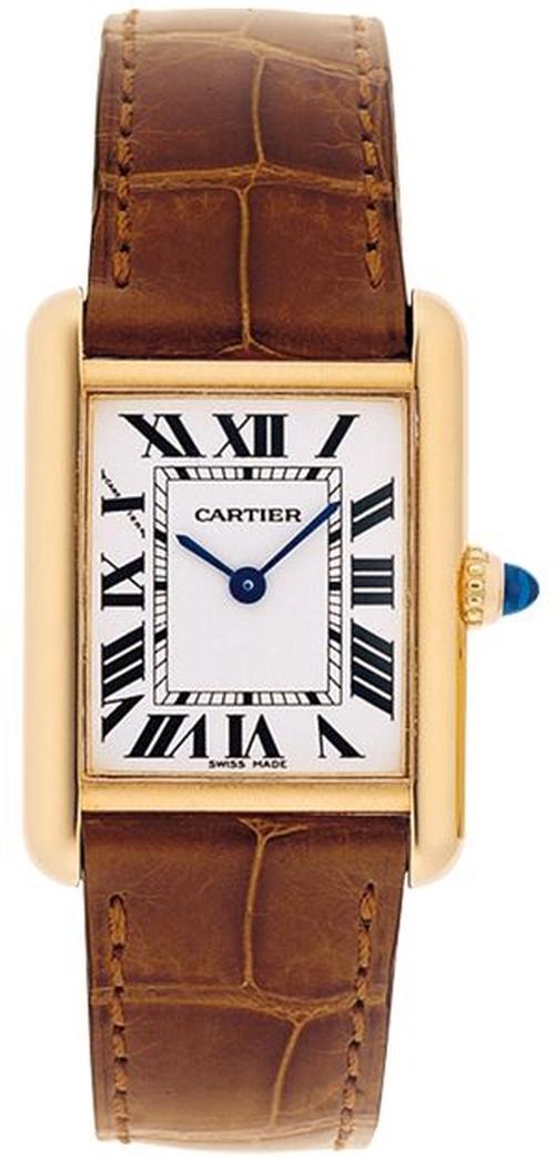 Tank Louis Cartier Watch by Cartier in Elementary - Season 4 Episode 6