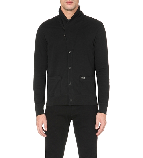Shawl Lapel Jersey Cardigan by Ralph Lauren in Empire